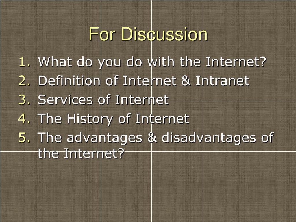 PPT - INTERNET & INTRANET PowerPoint Presentation - ID:2397169
