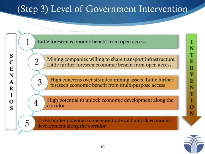 (Step 3) Level of Government Intervention