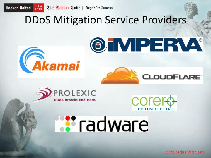 DDoS Mitigation Service Providers