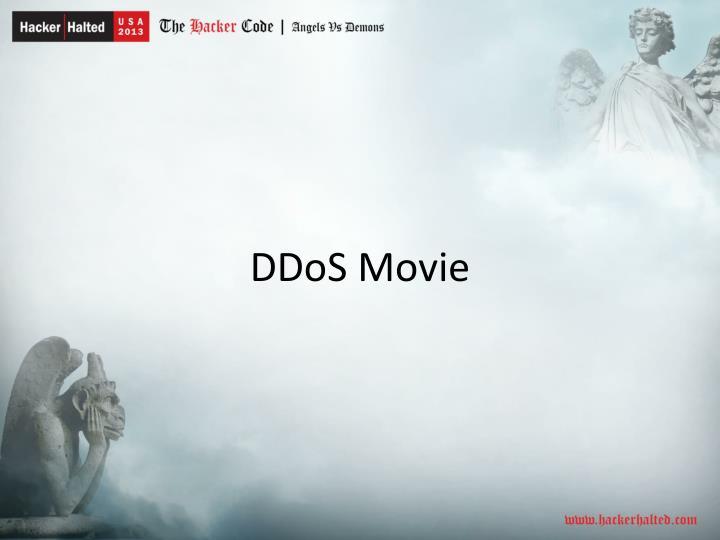 DDoS Movie