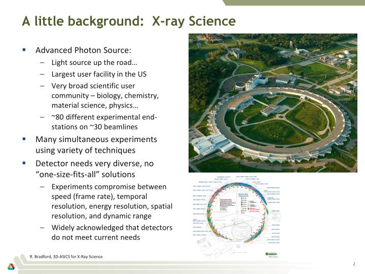 A little background x ray science