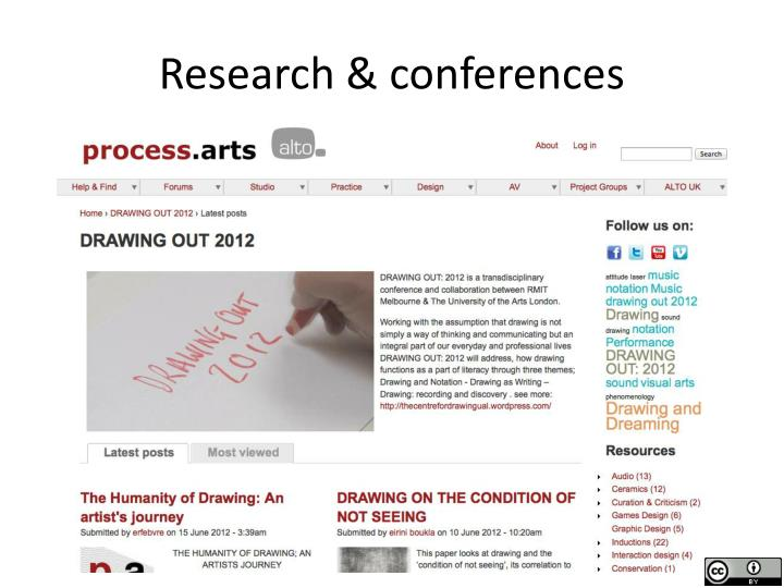 Research & conferences