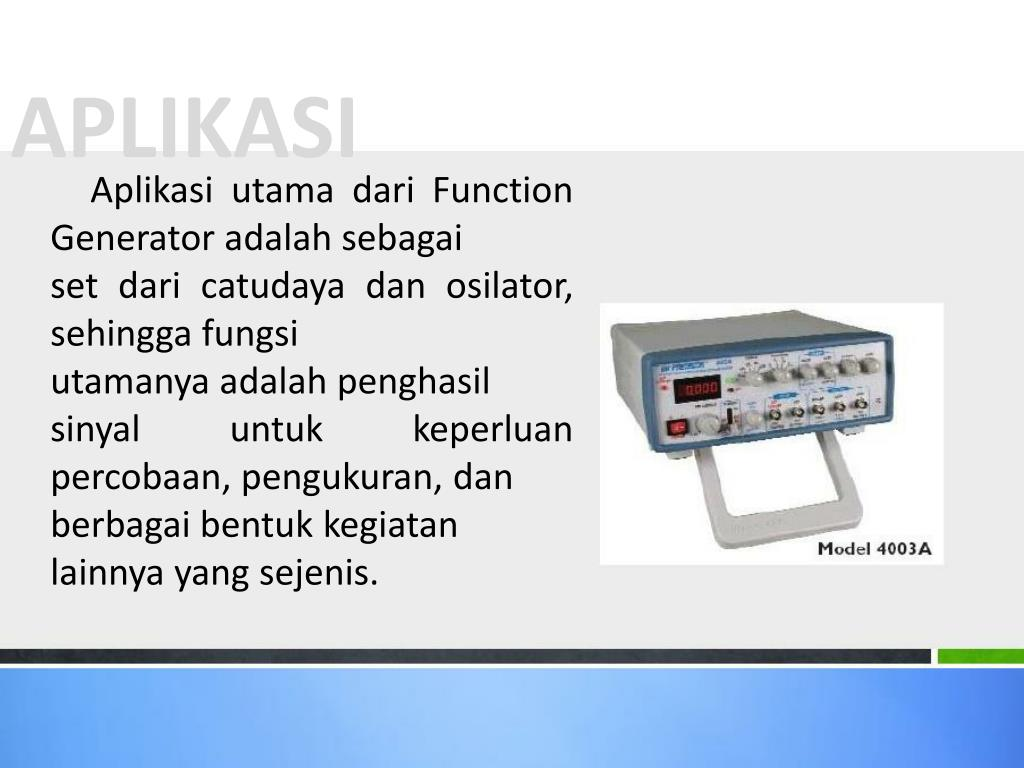 PPT - Fungsi, Cara Kerja, dan Implementasi Function ...