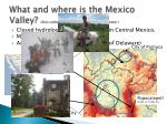 what and where is the mexico valley also called anahuac nahuatl for close to water