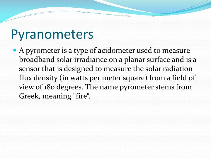 an introduction to the different ways to measure radiation Background temperature is different from the object  five ways to determine emissivity  infrared pyrometers introduction author: omega.