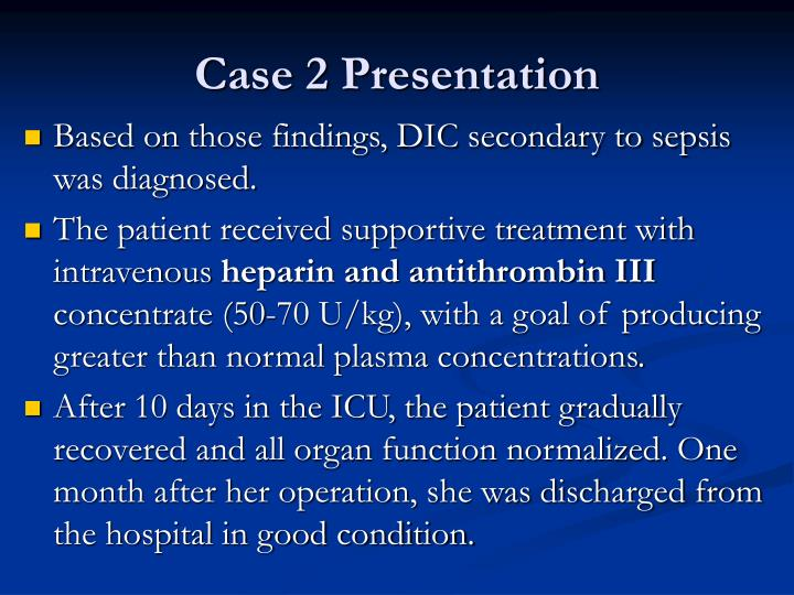 Case 2 Presentation