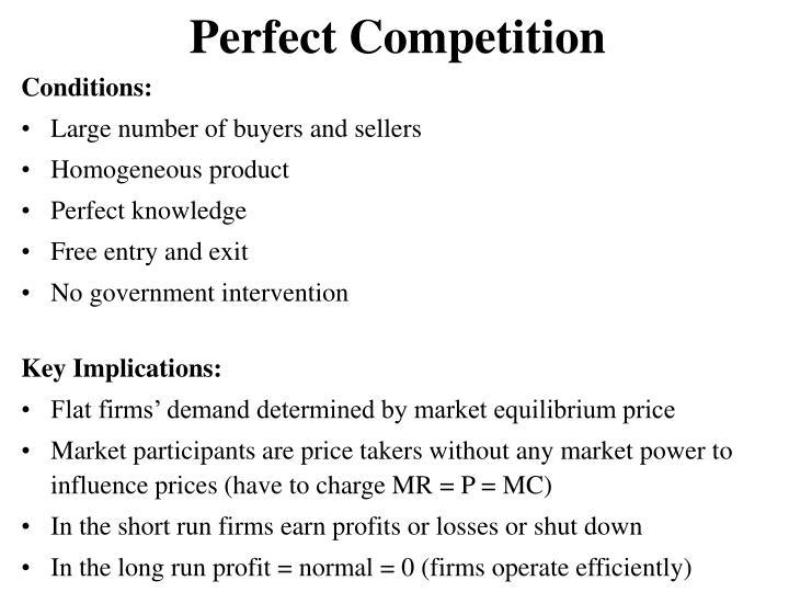 government intervention in monopolistic competition