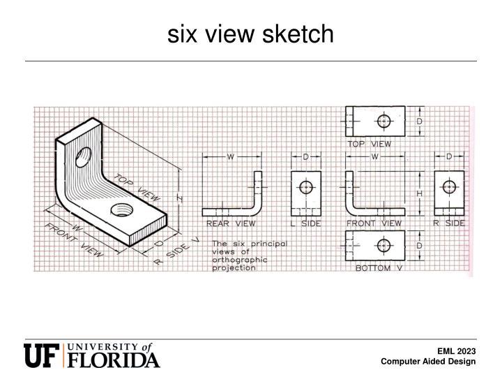 six view sketch