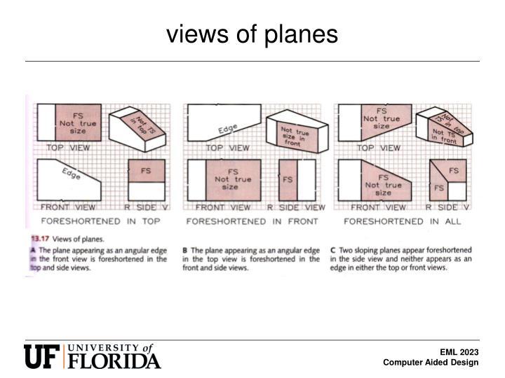 views of planes