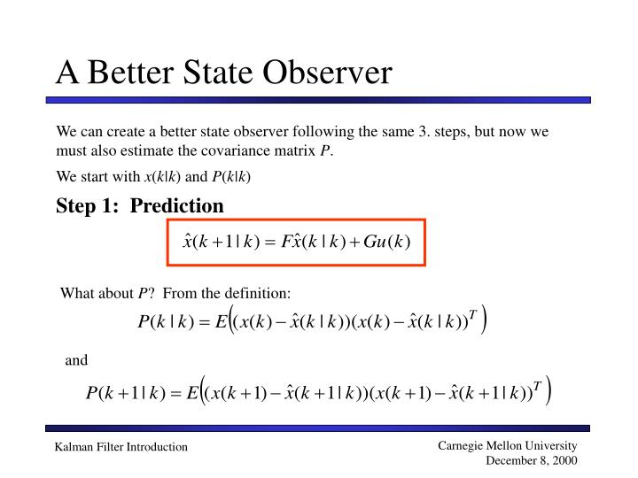 A Better State Observer
