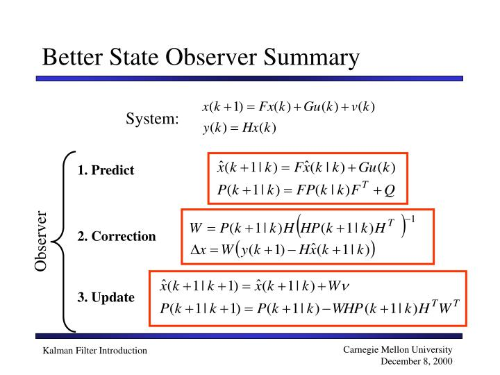 Better State Observer Summary
