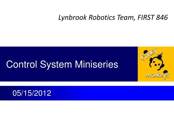 control system miniseries n.
