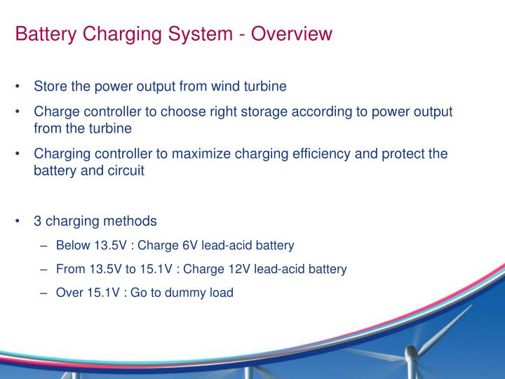 Battery Charging System - Overview