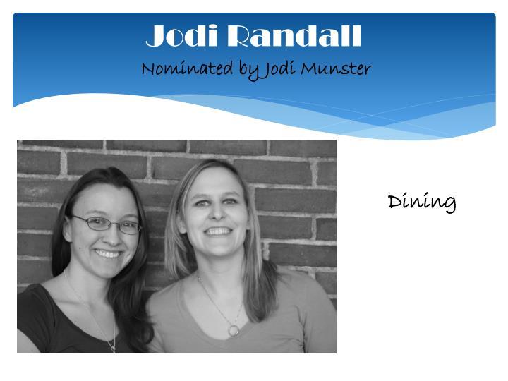 Jodi Randall
