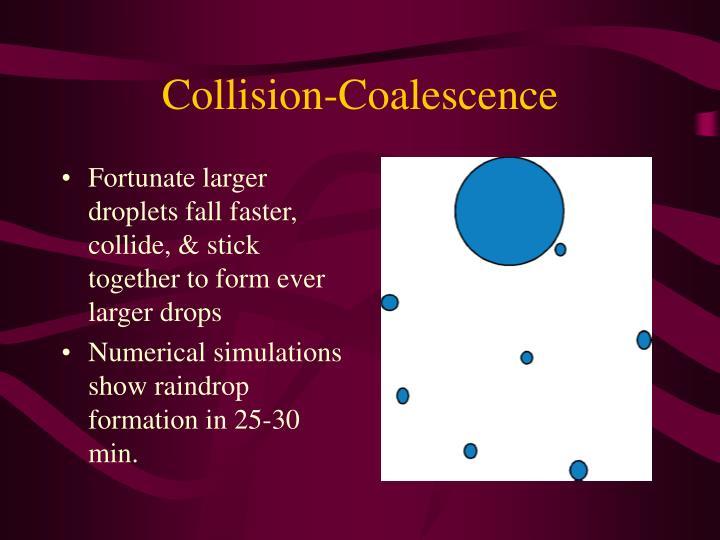 Collision-Coalescence