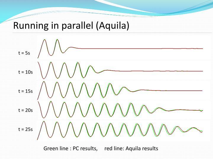 Running in parallel (Aquila)