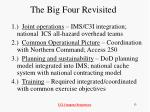 the big four revisited