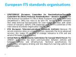 european its standards organisations