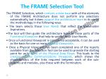 the frame selection tool1