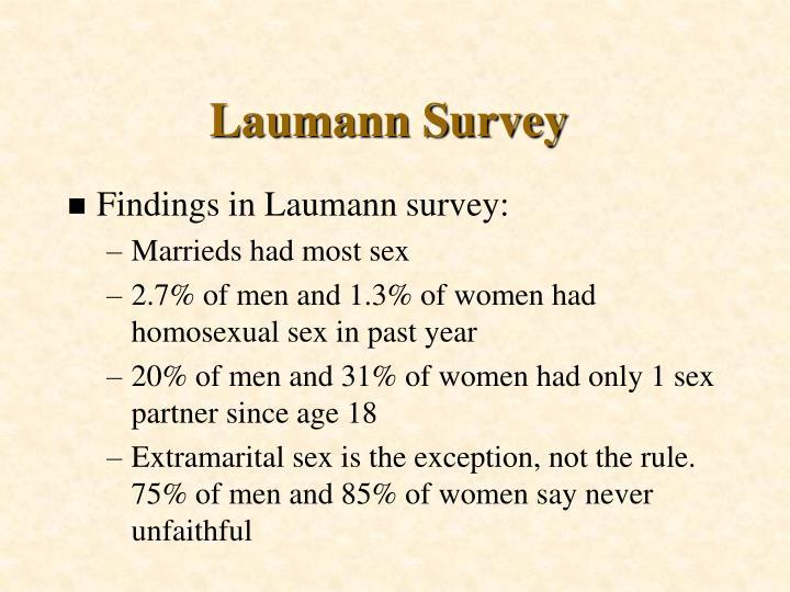Laumann Survey