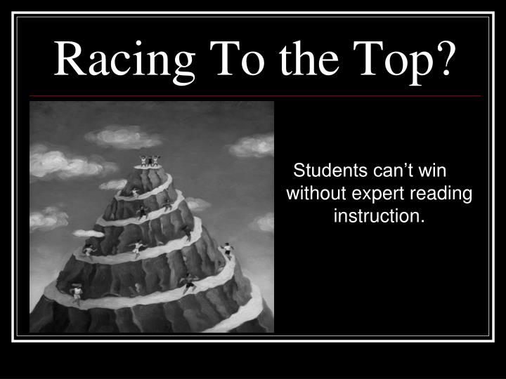 Racing To the Top?