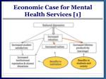 economic case for mental health services 1