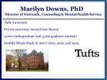 marilyn downs phd director of outreach counseling mental health service