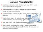 how can parents help1