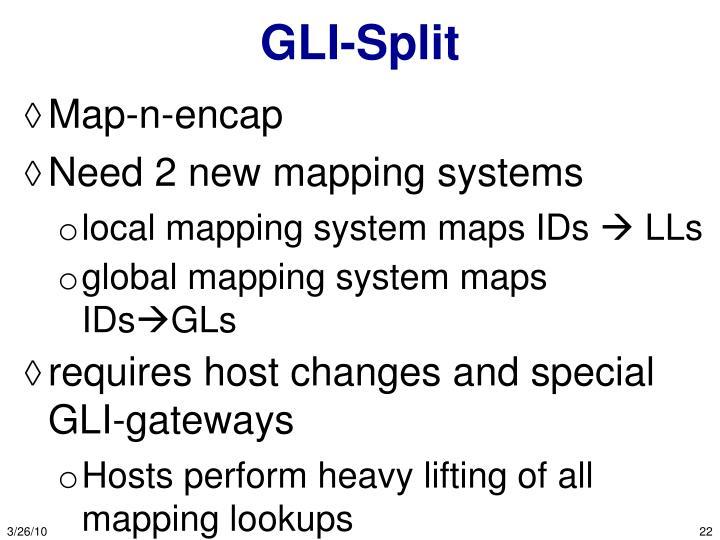 GLI-Split