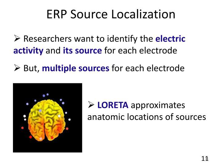 ERP Source Localization