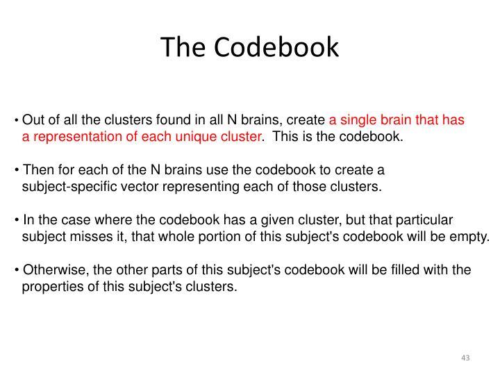 The Codebook