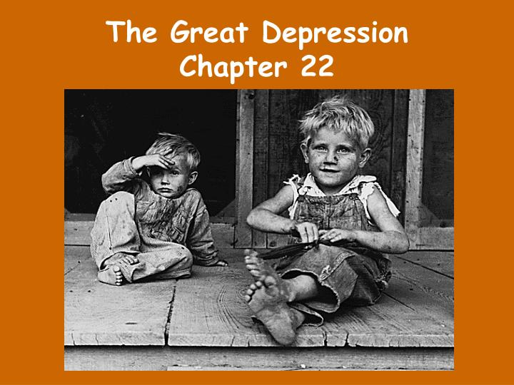 the great depression chapter 22 n.