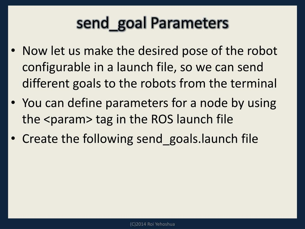 PPT - Multi-Robot Systems with ROS Lesson 6 PowerPoint