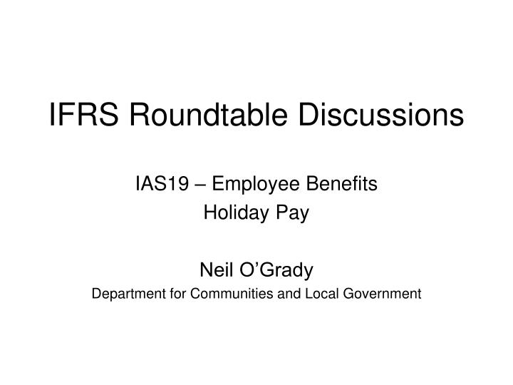 ifrs roundtable discussions n.
