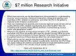 7 million research initiative