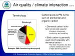 air quality climate interaction 2 of 3