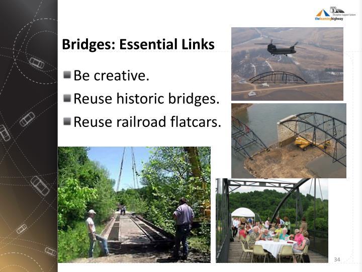 Bridges: Essential Links