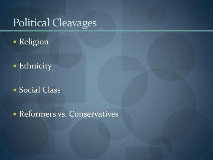 Political Cleavages