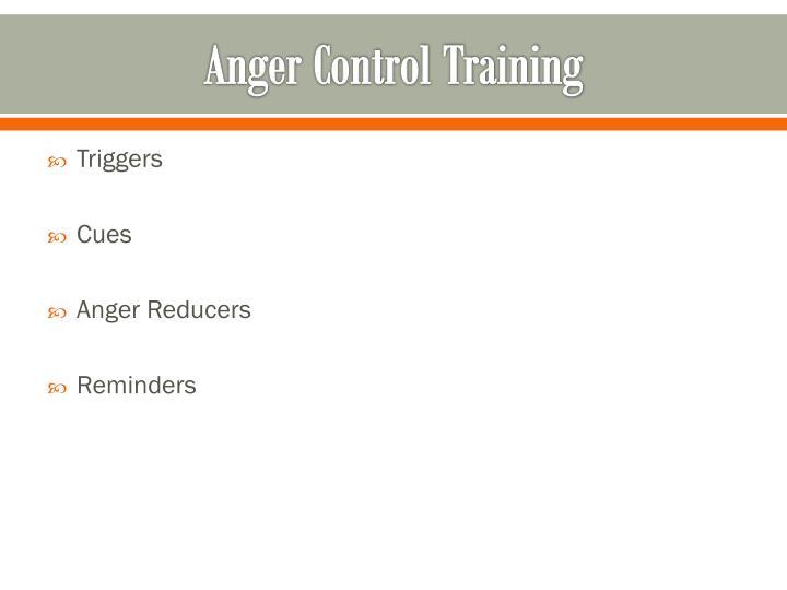 Anger Control Training