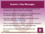 session 1 key messages4
