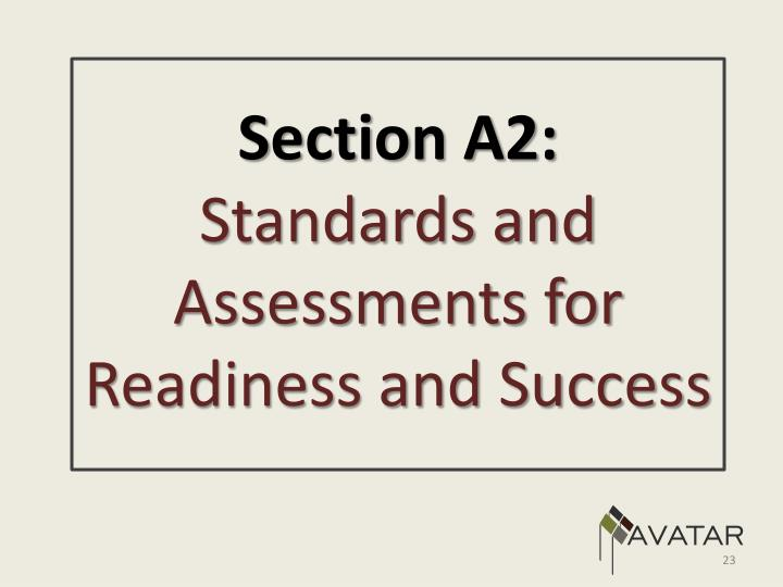 Section A2: