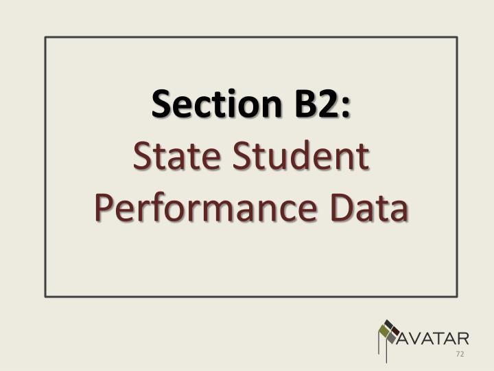 Section B2: