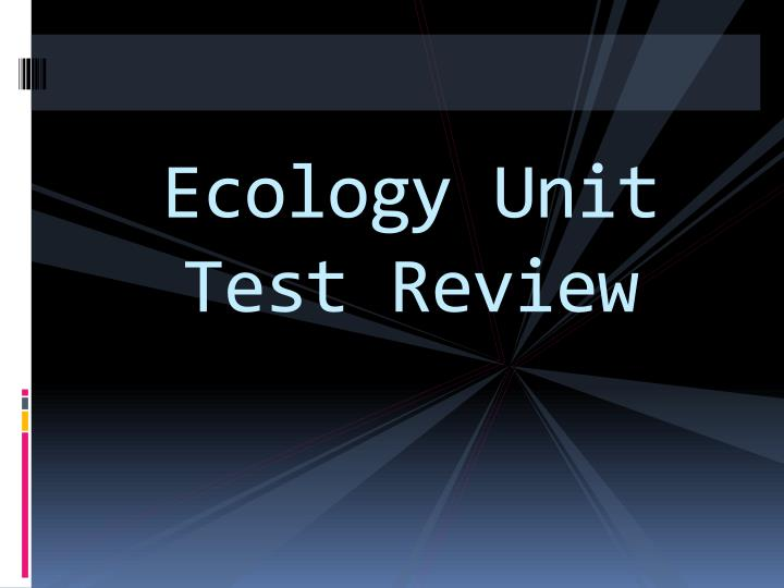 ecology unit test review n.