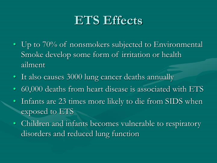 ETS Effects