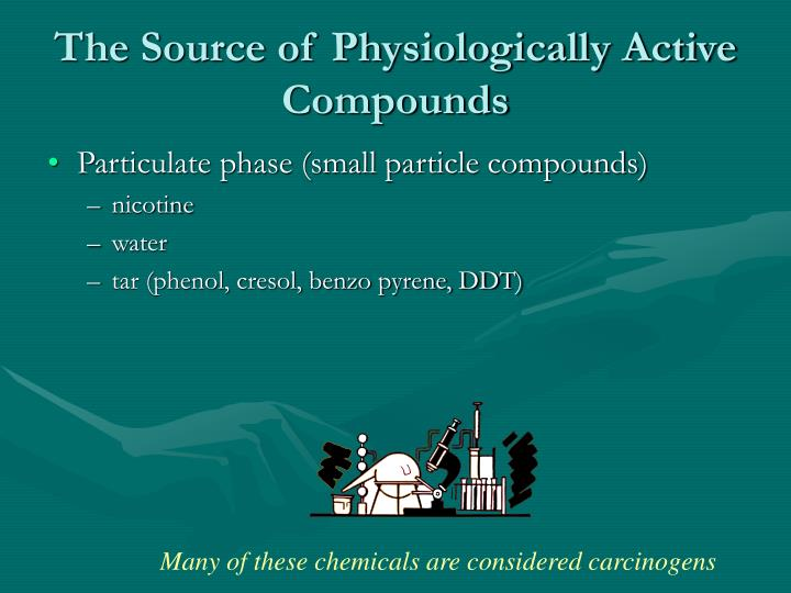 The Source of Physiologically Active Compounds