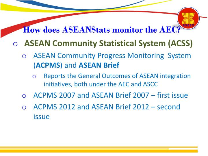 Ppt dr melanie milo asean integration monitoring office asean how does aseanstats monitor the aec malvernweather Images