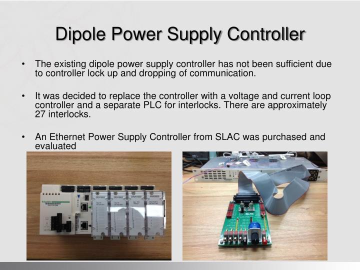 Dipole Power Supply Controller