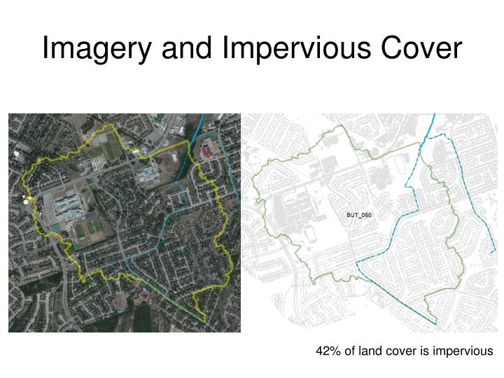 Imagery and Impervious Cover