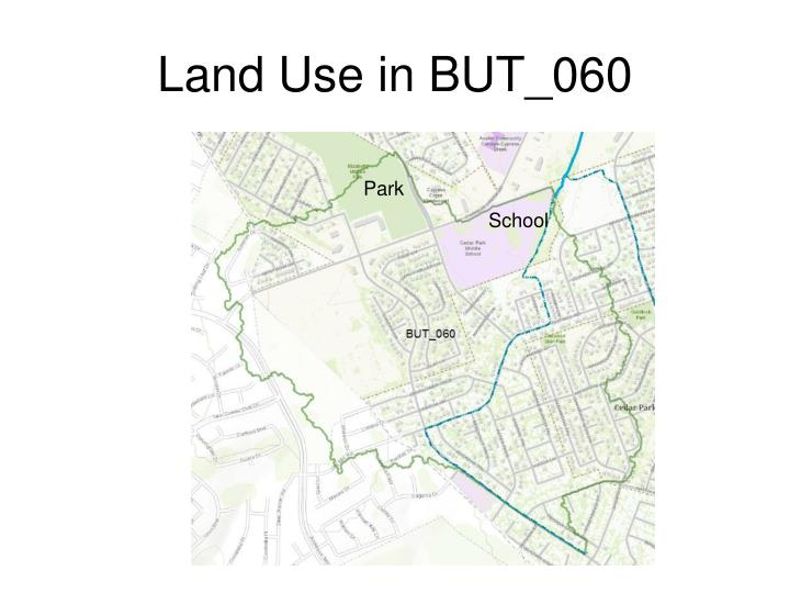 Land Use in BUT_060
