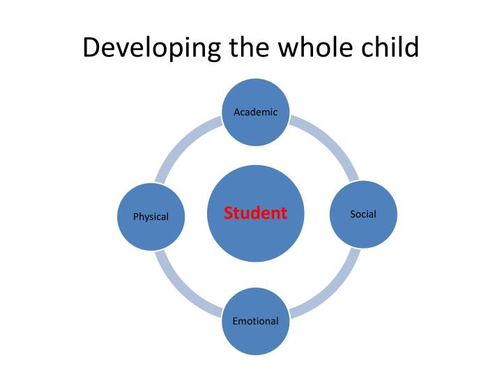 Developing the whole child